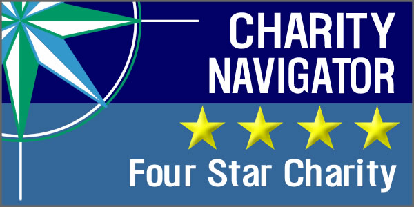 Charity Navigator has awarded Thrive DC their highest 4 star rating