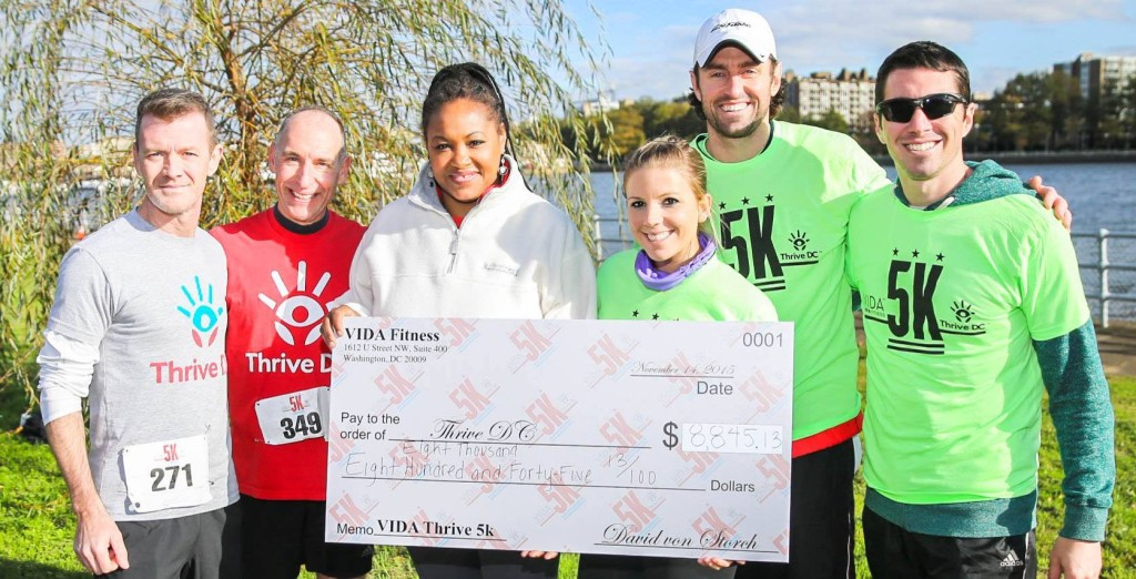 Vida Fitness Thrive DC 5k