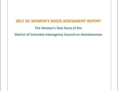 2017 DC Women's Needs Assessment Report