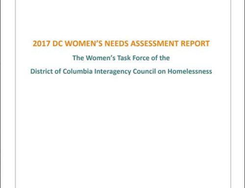 2017 DC Women's Needs Assessment Report