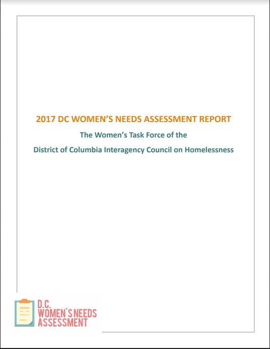 2017 Women's Needs Assessment Report