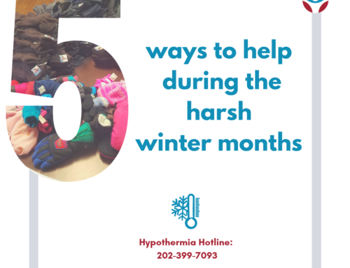 Hypothermia & Homelessness: 5 ways to help during the winter months