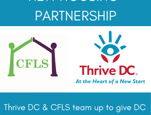 Thrive DC & CFLS Team Up to Give DC Women a Home After Incarceration
